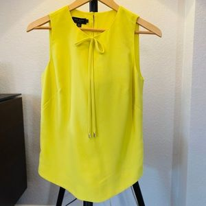 Ted Baker blouse in neon green